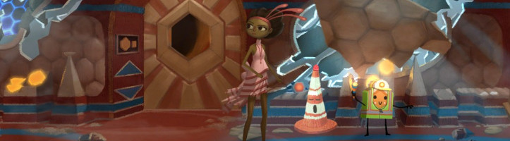 Broken Age screenshot.