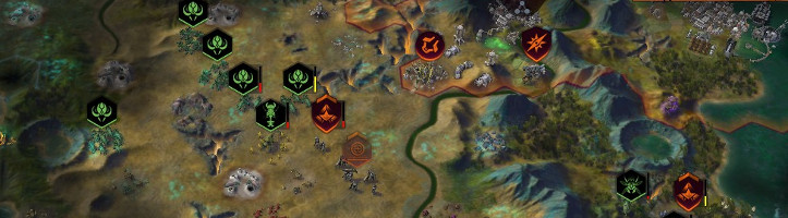 Civilization: Beyond Earth screenshot.