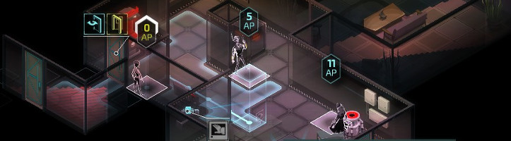 Invisible, Inc. screenshot.