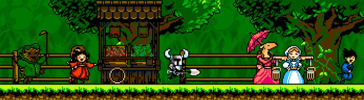 Shovel Knight screenshot.