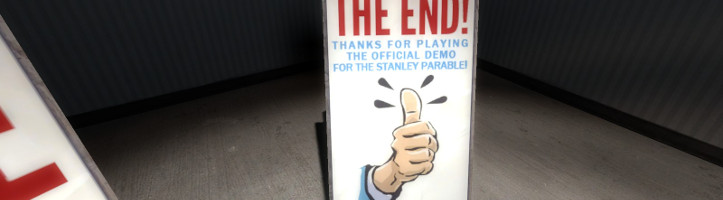 The Stanley Parable Demo screenshot.