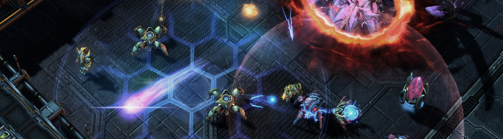 StarCraft 2 screenshot.