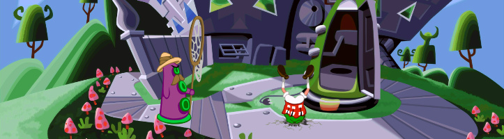 Day of the Tentacle Remastered screenshot.