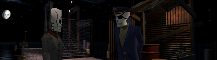 Grim Fandango Remastered screenshot.