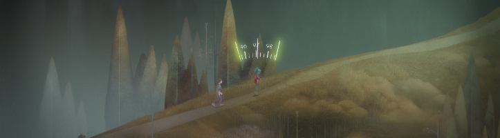 Oxenfree screenshot.