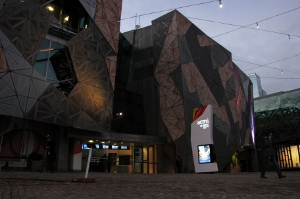 The AMCI building in Federation Square