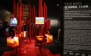 The Sconic Team exhibit in the Game Masters exhibition