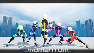 Promotional art for inMomentum.