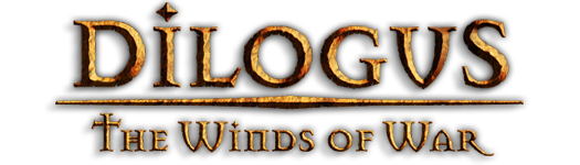 The Dilogus: The Winds of War logo.