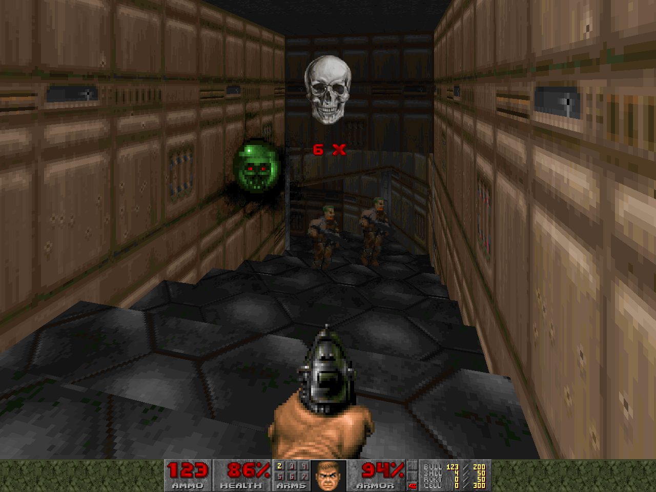 A screenshot from Green Demon Challenge.