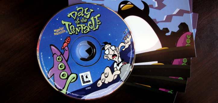 My Day of the Tentacle disc.
