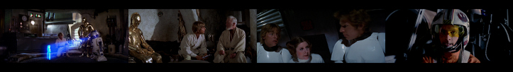 Moments from Star Wars