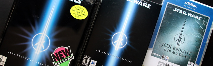 Star Wars: Jedi Academy and Star Wars: Jedi Outcast for Windows and Mac